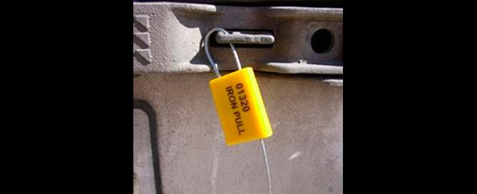 selos de Segurança metálicos